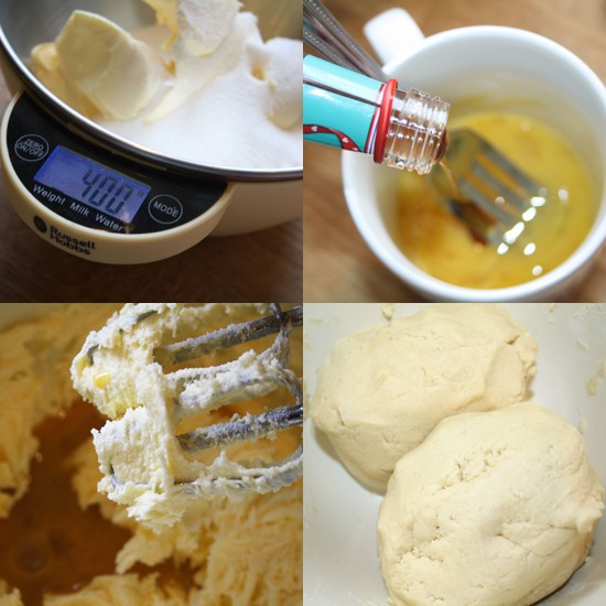 No spread cookie dough recipe