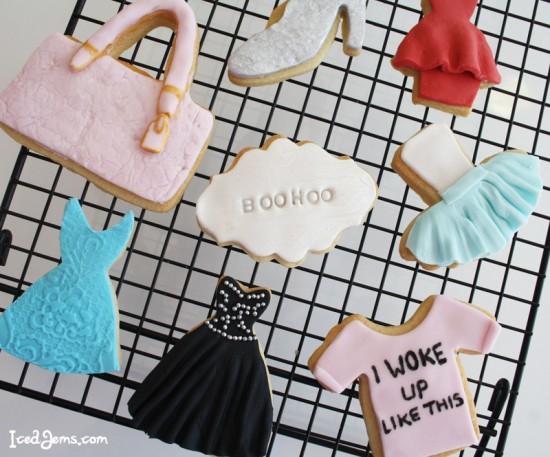 Fashionista Cookies