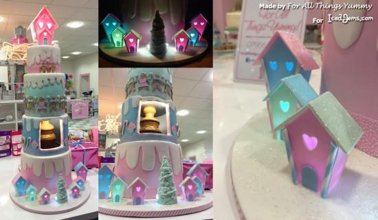 Christmas Candyland Cake