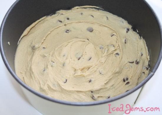 Creme Egg Cookie Dough