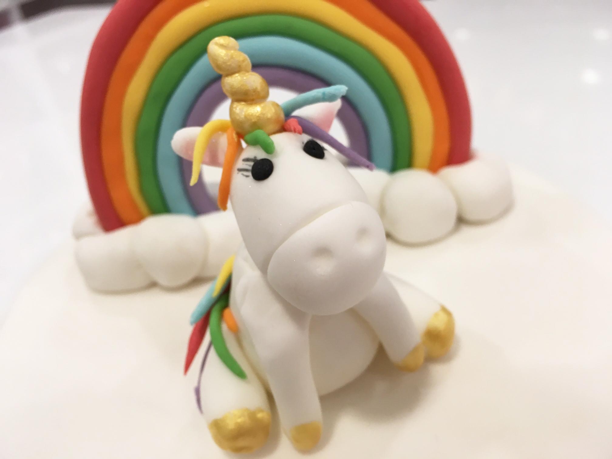 UnicornRainbowCake